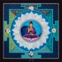 kuan yin holding the earth in a mandala