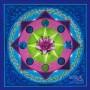 lotus art in center of a mandala