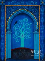 mihrab with tree of life