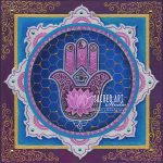 interfaith hamsa hand inside a mandala